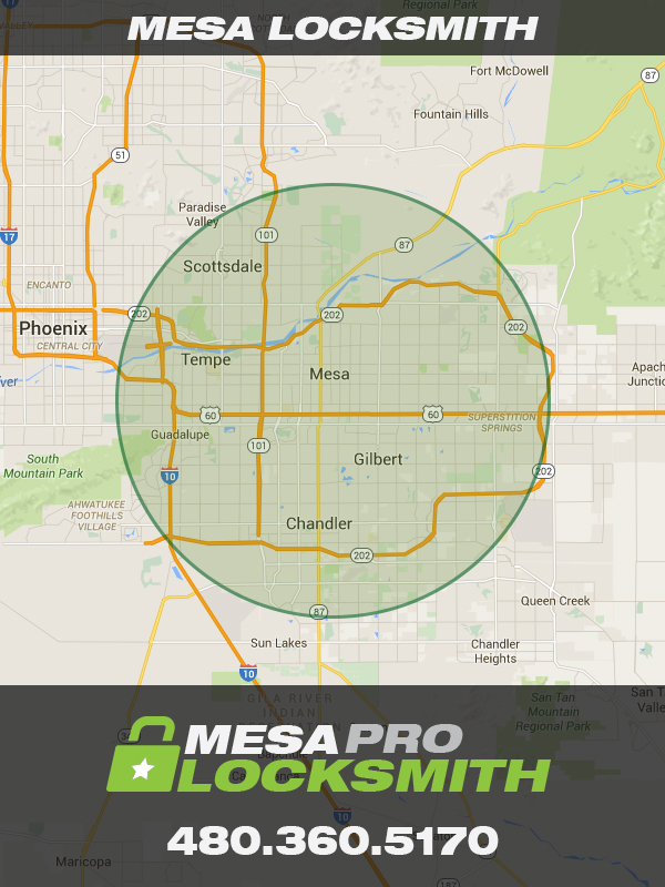 Mesa Pro Locksmith location